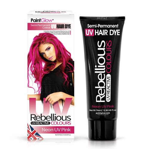 UV Pink - Semi Permanent Hair Dye 70ml